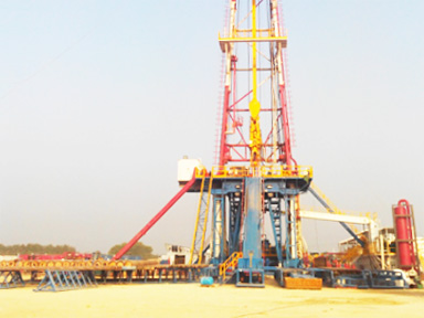 The maintenance and drilling rig service of OGDCL ZJ70DB
