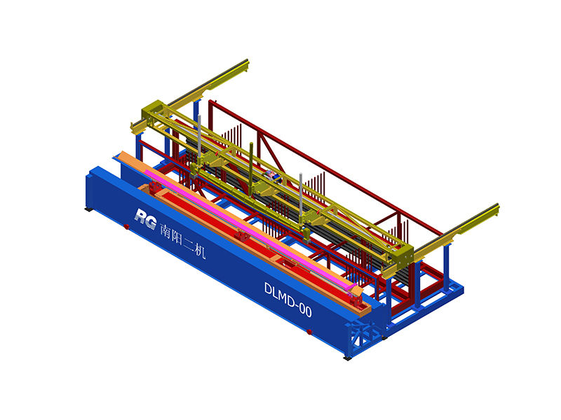 Automatic pipe column lifting system