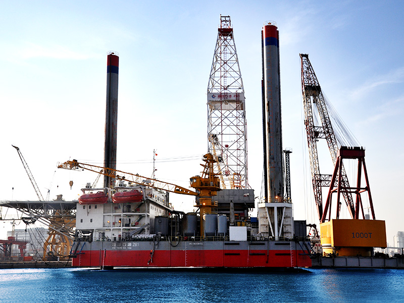 HZJ70 Off-shore Drilling Rig